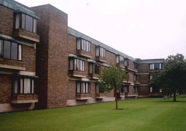 churchill college cambridge student halls