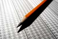 entrance exam scantron test