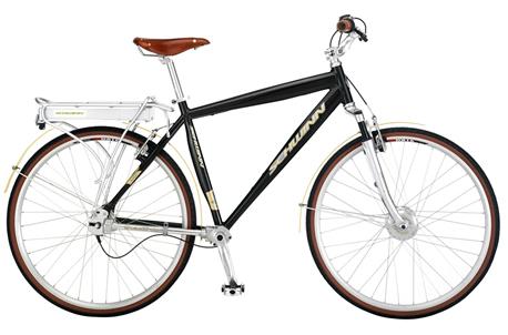 rode bike
